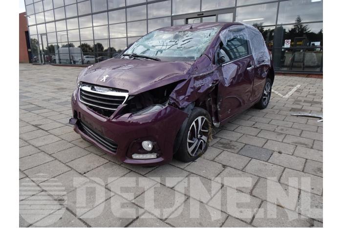 Sleutel - Peugeot 108