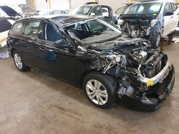 Peugeot 308 Sw  L4  L9  Lc  Lj  Lr  1 6 Bluehdi 120  Sloop  Bouwjaar 2015  Kleur Metallic  Zwart
